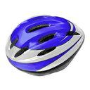 AVIGO キッズヘルメット Lサイズ ブルー LED付 (5860cm)