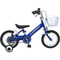 16インチ 幼児用自転車 補助輪付き リーズポート ブルー 166123B