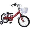 18インチ 幼児用自転車 補助輪付き リーズポート レッド 186123R