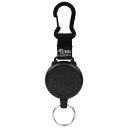 :KEY-BAK :カラビナキーリール120CM :NO.488B ケブラ-