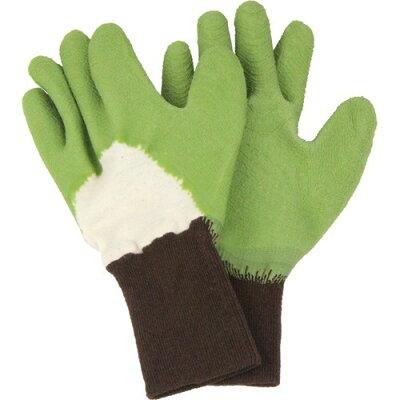 セフティー3 トゲがささりにくい手袋 GR グリーン S(1組)