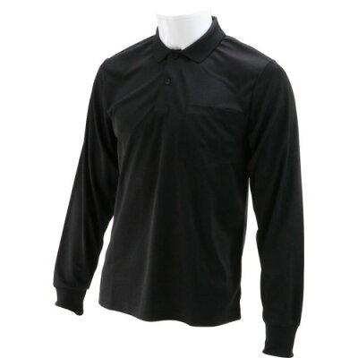 SK11 長袖ポロシャツ ブラック 3Lサイズ  3L-BLK-1P(1枚)