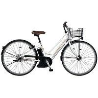 MARUKIN27型 電動アシスト自転車 レアルタシティ ハイブリッド273-G ホワイト MK-14-046 レアルタシティHB273G