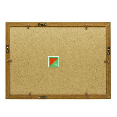 フジカラー 木製額縁 YM-9 4切 ブラウン(1枚)