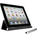 エコー iPad2 タッチペン付きケース Painter ブラック E61467(1コ入)【エコー(ECHO)】