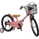 ピープル 18型 子供用自転車 共伸びサイクル(ブルーミングピンク) YGA3172019年モデル