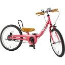 ピープル 18型 子供用自転車 ケッターサイクル(ラズベリー) YGA3152019年モデル