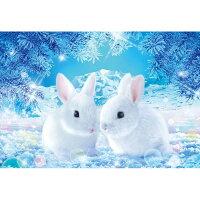 ウィルファー Fantasy Art 春待ちうさぎ 世界極小1000マイクロピース ビバリー ビバリーM81-538ハルマチウサギ