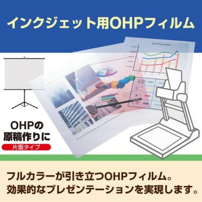 PLUS インクジェット用OHPシート IT-120PF