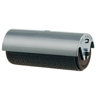 PLUS 個人情報保護スタンプ ローラーケシポン ワイド 55mm 専用インクカートリッジ ブラック IS-017CM(1コ入)
