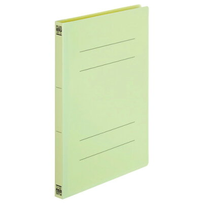 PLUS PPフラットファイルB5 NO.131P グリーン
