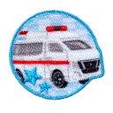 トミカ 日産 NV350キャラバン 救急車 シールワッペン
