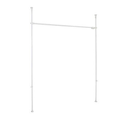 平安伸銅工業 突っ張りカーテン用ポール ホワイト 耐荷重  幅108-  高さ190-  tnp-4