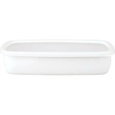 ハニーウェア コンテ 浅型角容器 LL リリーホワイト KE-LL LW(1コ入)