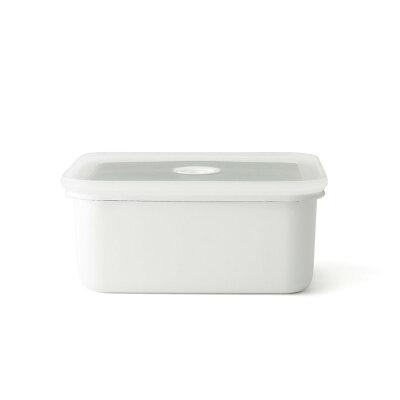 ヴィード シリーズ 真空琺瑯容器 深型角容器 L 1.9L