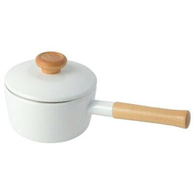 富士ホーロー ホーロー 片手 天ぷら鍋 温度計付き フタ付き