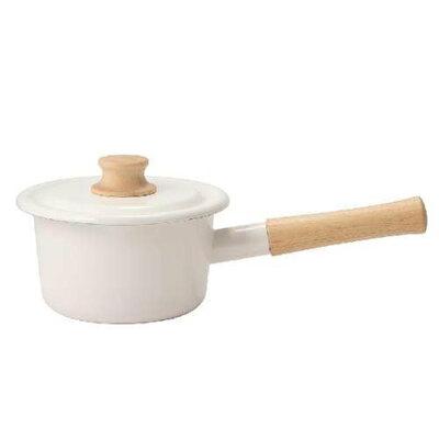 富士ホーロー Cotton ホーロー ミルクパン 14cm