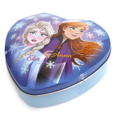 ハート ダイヤカット缶 アナと雪の女王 2個