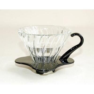 ハリオ V60 耐熱ガラス透過ドリッパー 01B VDG-01B(1コ入)