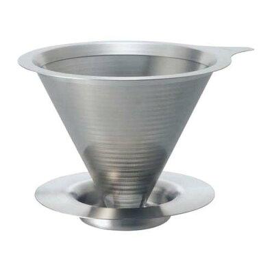 ハリオ ダブルメッシュメタルドリッパー DMD-01-HSV(1コ)