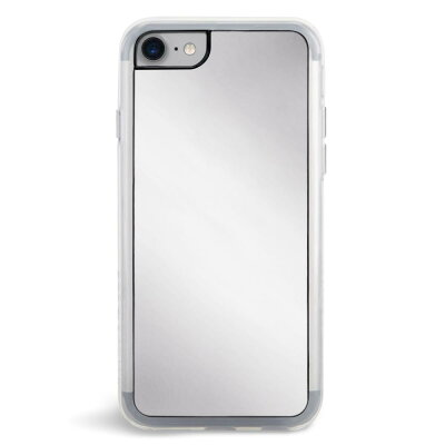 ZEROGRAVITY iPhone 8 iPhone 7 SILVER MIRROR ソフトケース TPU 頑丈