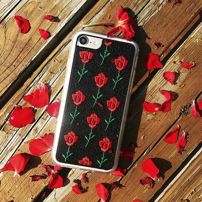 ZERO GRAVITY ゼログラビティ iPhone 7/8 対応 ケース SCARLET EMBROIDERED