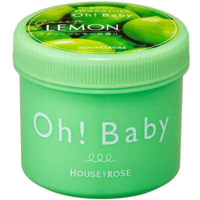 HOUSE OF ROSE ボディスムーザー グリーンレモンの香り 350g