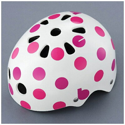 ブリヂストン 幼児用ヘルメット bikkeキッズヘルメット ドットピンク/46~52cm CHBH4652