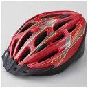 ブリヂストン 子供用ヘルメット エアリオヘルメットM レッド/54~56cm CHA5456