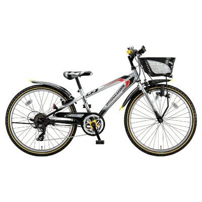 ブリヂストン 24型 子供用自転車 クロスファイヤー ジュニア シルバー&ブラック/7段変速 CFJ47