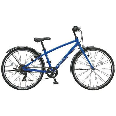 ブリヂストン 26型 子供用自転車 シュライン F.Xグリッターブルー/7段変速 SHL67