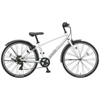 ブリヂストン 26型 子供用自転車 シュライン P.Xオーロラホワイト/7段変速 SHL67