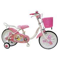ブリヂストン18型 子供用自転車 ディズニープリンセス(オーロラホワイト)NPR18