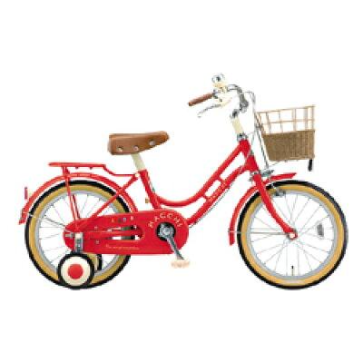 ブリヂストン 18型 子供用自転車 ハッチ(レッド)HC182