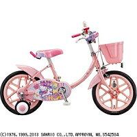 ブリヂストン16型 子供用自転車 ハローキティ ピンク KT16S3