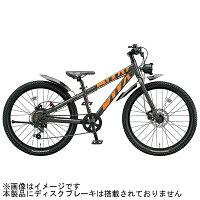 ブリヂストン20型 子供用自転車 BWX STREET ガンメタリック&オレンジ/6段変速 BXS064 BXS064
