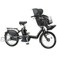 ブリヂストン20型 電動アシスト自転車 アンジェリーノプティットe T.マットカーキ A20L85