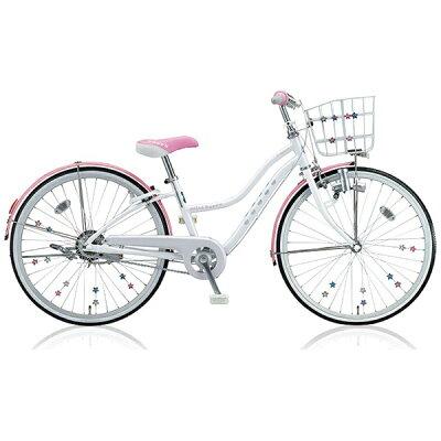 ブリヂストン 22型 子供用自転車 ワイルドベリー パールシュガー/シングルシフト WB206