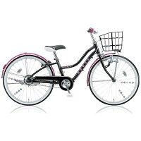 ブリヂストン 24型 子供用自転車 ワイルドベリー ブラックパンサー/シングルシフト WB406