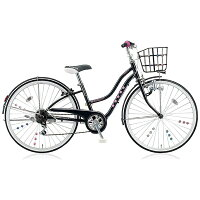 ブリヂストン 24型 子供用自転車 ワイルドベリー ブラックパンサー/6段変速 WB466