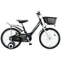ブリヂストン 18型 幼児用自転車 エコキッズスポーツ ブラック/シングルシフト EK18S6