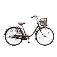 ブリヂストン 26型 自転車 エブリッジU F.Xカラメルブラウン/3段変速 EB63UT
