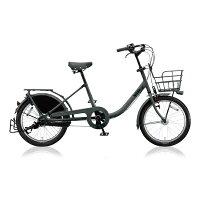 ブリヂストン 20型 自転車 bikke MOB b E.XBKダークグレー/内装3段変速 BM03UT