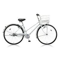 ブリヂストン 26型 自転車 スクリッジ S型 M.XRシルバー/内装3段変速 SR63S