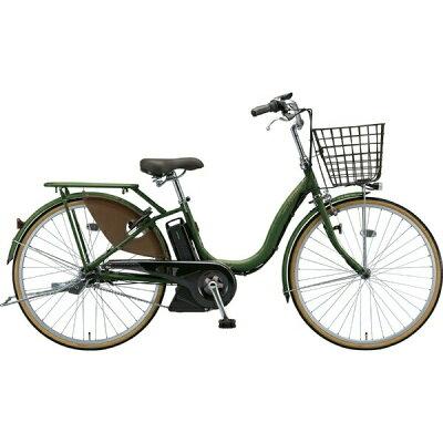 ブリヂストン 26型 電動アシスト自転車 アシスタファイン(E.Xナチュラルオリーブ/内装3段変速)A6FC192019年モデル