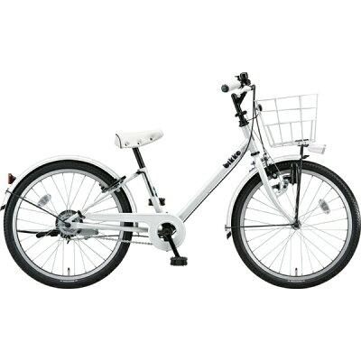 ブリヂストン 22型 子供用自転車 bikke j(ホワイト×シングル/シングルシフト)BK22VJ2019年モデル
