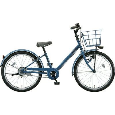 ブリヂストン 22型 子供用自転車 bikke j(ネイビーグレー×シングル/シングルシフト)BK22VJ2019年モデル