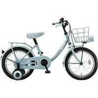 ブリヂストン 16型 幼児用自転車 bikke m(ブルーグレー×シングル/シングルシフト)BK16UM 2019年モデル