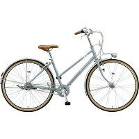 ブリヂストン 27型 自転車 マークローザ 3S(T.Xマットブルーグレー(ツヤ消しカラー)/内装3段変速) MRK73T 6337