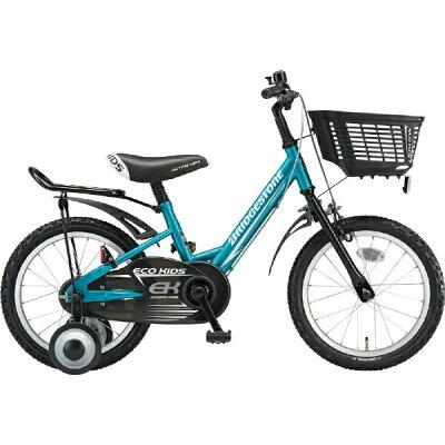 ブリヂストン BRIDGESTONE 18型 子供用自転車 エコキッズ スポーツ グリーン&ブラック/シングルシフト EKS18
